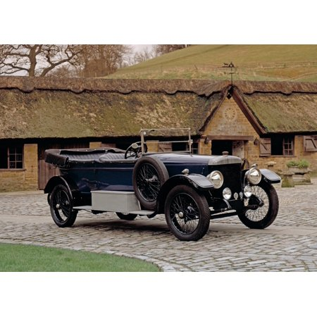 1922 Daimler 30HP 50 litre 2-door tourer Country of origin United Kingdom Canvas Art - Panoramic Images (18 x 24)