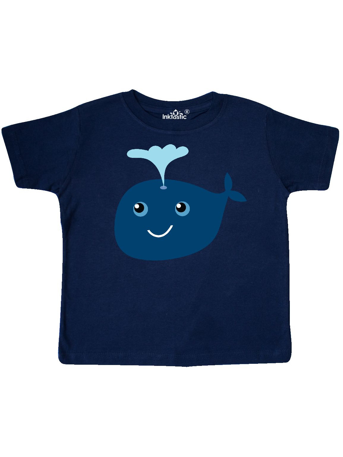 inktastic Our First Valentines Day with Whales in Pink Toddler T-Shirt