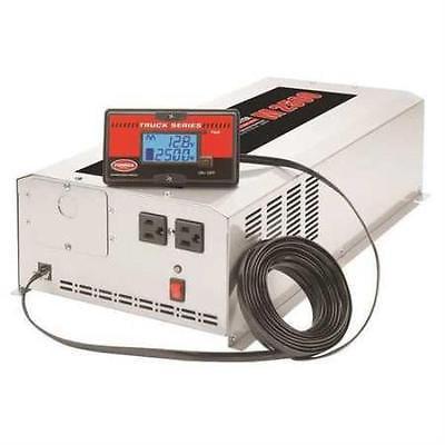 Inverter, 120VAC, 12VDC, 2500W, 2 Outlets