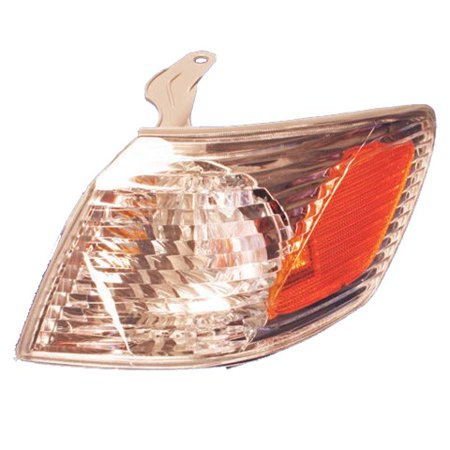 New Left Corner Light - Fits 2000-2001 Toyota Camry Turn Signal Lamp Driver Side (Toyota Camry Lamp)
