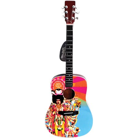 Axe Heaven Jimi Hendrix AXIS Bold As Love Acoustic Mini Guitar Replica Collectible