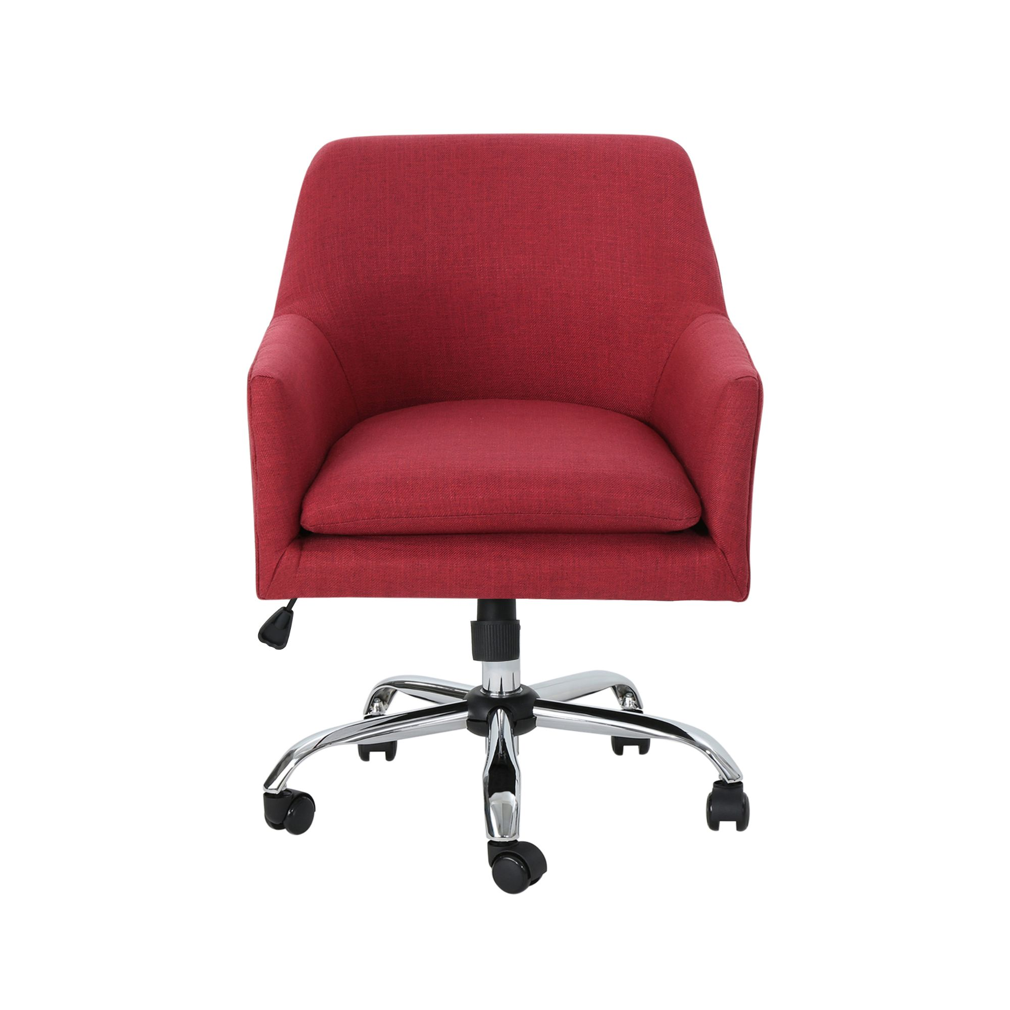 32 5 Red And Silver Contemporary Handcrafted Home Office Chair Walmart Com Walmart Com