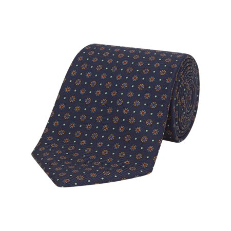Turnbull & Asser The Great Gatsby Printed Silk Neck Tie TZ376