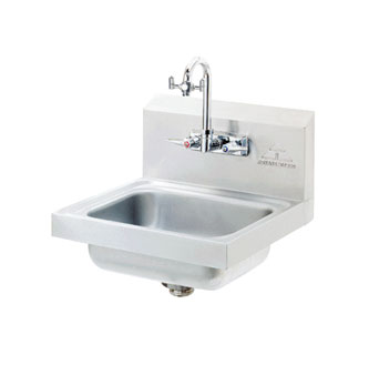Advance Tabco 12'' x 16'' Single Hand Sink with Faucet by Advance Tabco