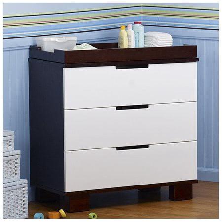 DaVinci Modo 3-Drawer Dresser/Changer Combo - (Babi Italia Eastside Dresser Changer Combo Classic Cherry)