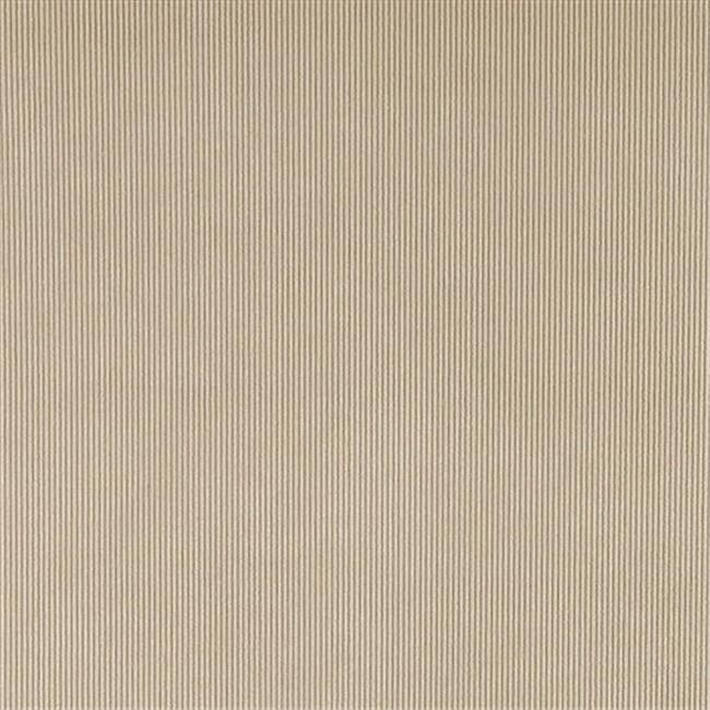 54 in. Wide Tan Thin Solid Corduroy Striped Upholstery Velvet Fabric