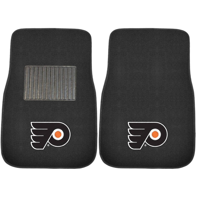 NHL Philadelphia Flyers Embroidered Car Mats