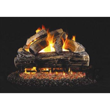 standard split oak gas logs 30 inch