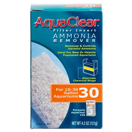 Aquaclear Ammonia Remover Filter Insert For Aquaclear 30 Power Filter