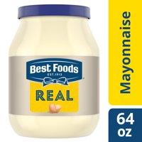 Best foods mayonnaise creamy real mayo gluten free, kosher condiment 64 oz