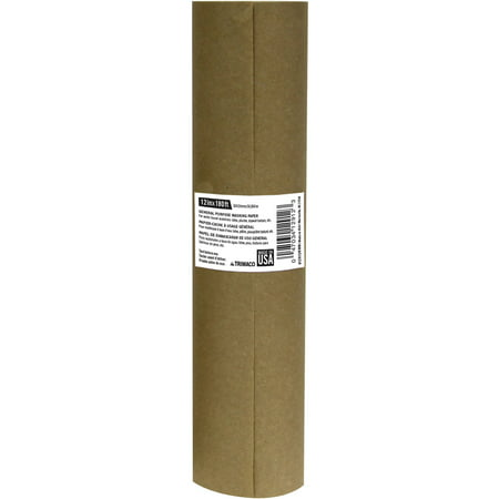 Trimaco General Purpose Masking Paper, Brown - Brown Craft Paper Roll