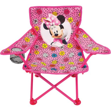 Prime Disney Minnie Mouse Fold N Go Chair Customarchery Wood Chair Design Ideas Customarcherynet