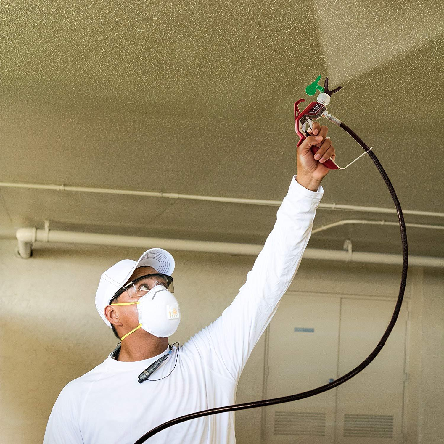 HEA technology decreases overspray by up to 55/% while delivering softer spray providing a consistent spray pattern Titan ControlMax 1500 0580005 High Efficiency Airless Paint Sprayer