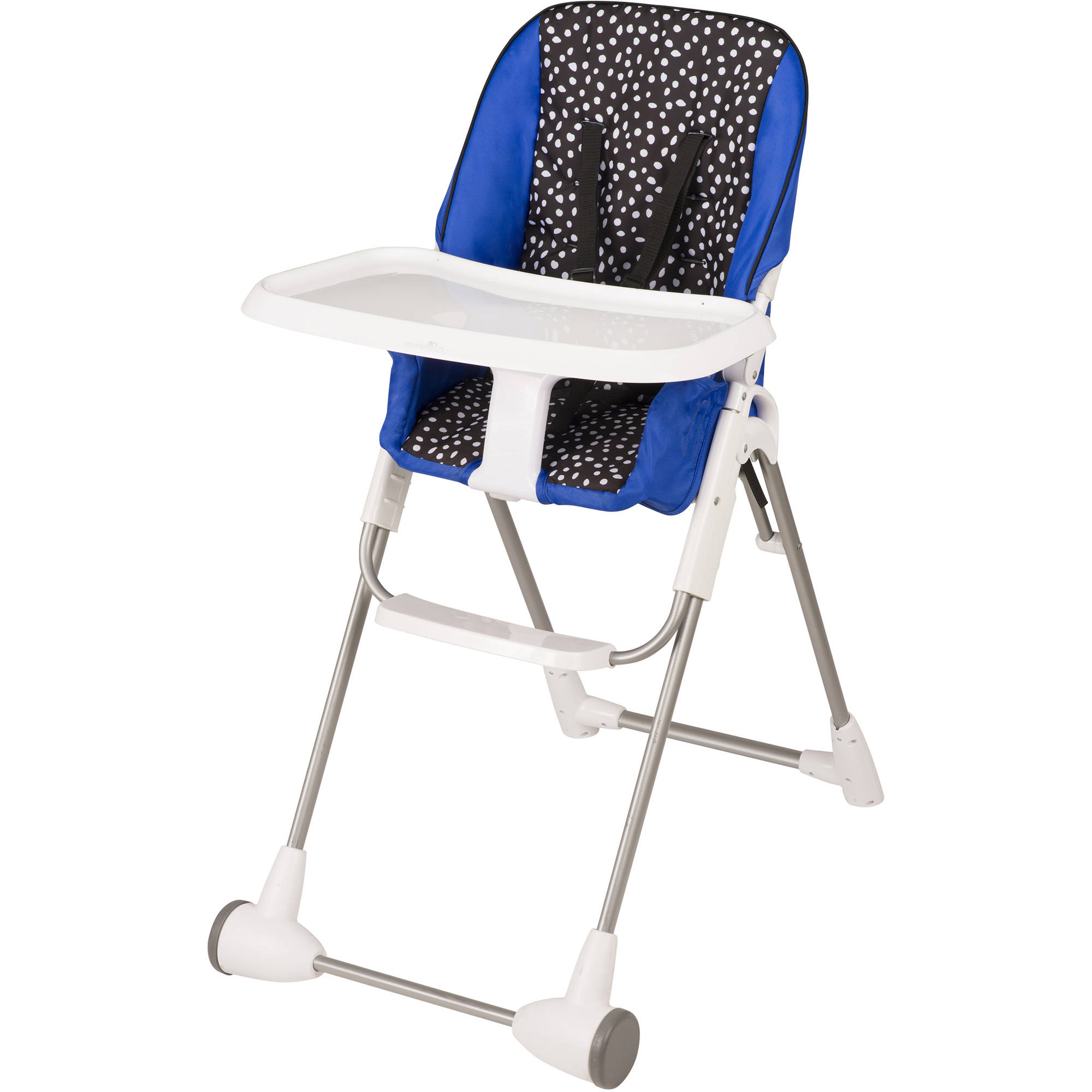 New Portable Infant Toddler Symmetry Flat Fold High Chair Hayden
