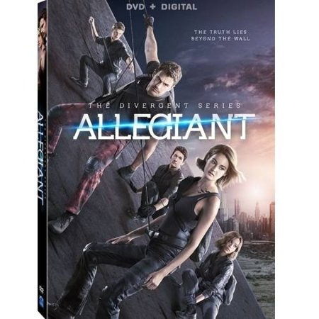 The Divergent Series  Allegiant  Dvd   Digital Copy   With Instawatch