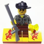 Brick Building Sets Original LEGO® Figure: Adventurers - Jungle Expedition Bundle - Max Villano (w/ accessory's and display base)