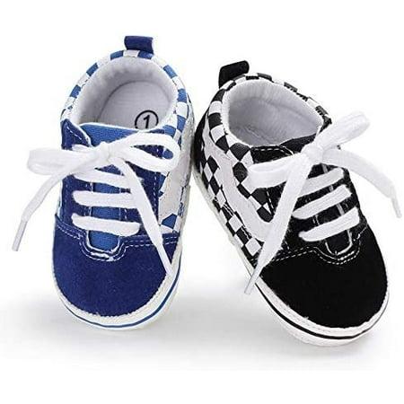 EE /_ Baby Newborn Toddler Girl Crib Chaussures pour bébé semelle souple Prewalker anti-dérapant snea