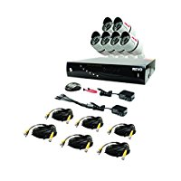 Revo RT81B6G-1T T-HD 8-Channel 1TB DVR Surveillance System with 6 T-HD 1080p Bullet Cameras (White)