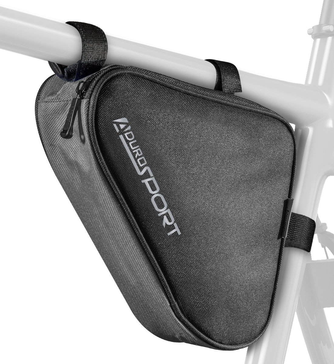 Pro Cycle Bicycle Triangle Storage Bag Black