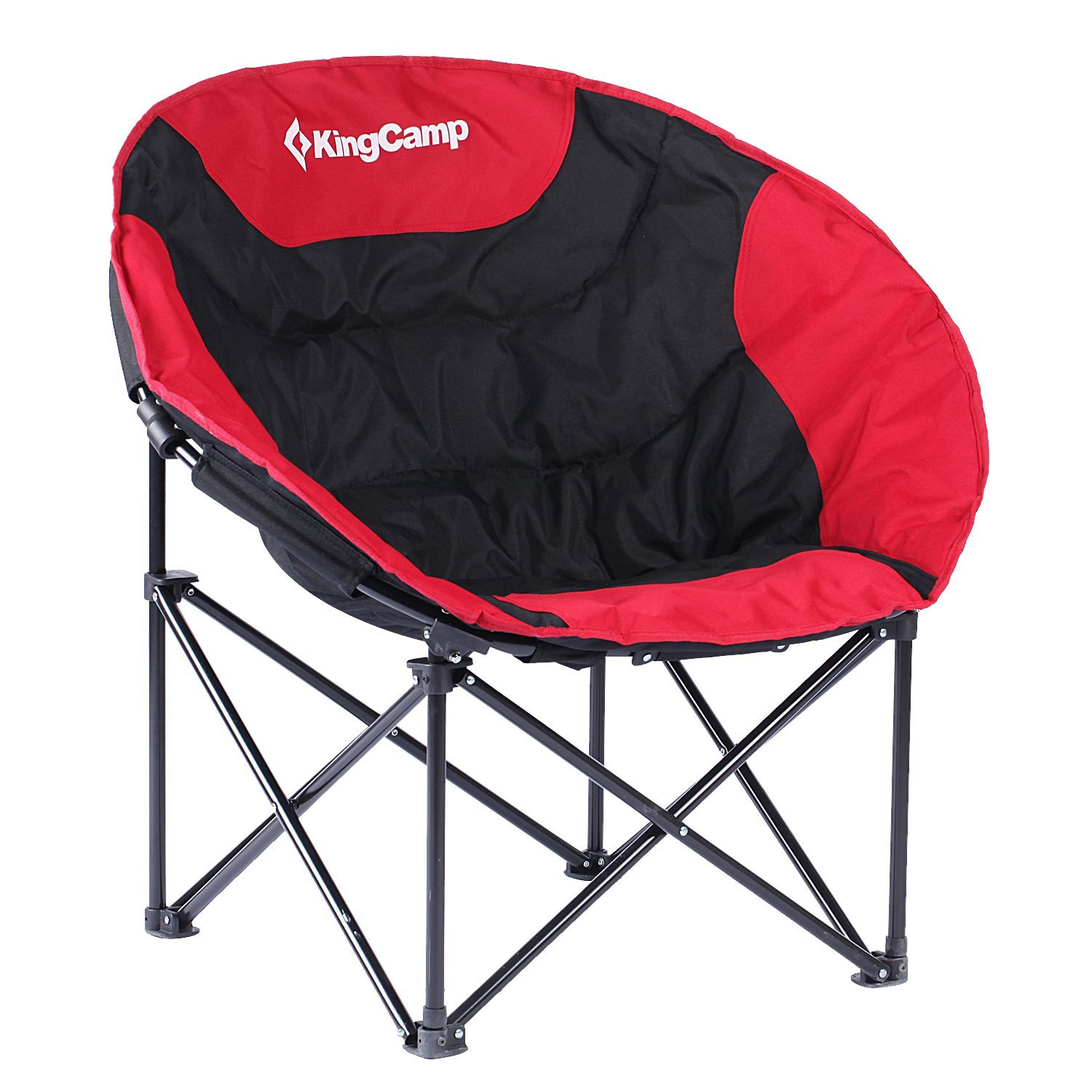 KingCamp Moon Lightweight Round Portable Stable Compact Folding All Seasons  Chair For Camping With Carry Bag, Indoor And Outdoor   Walmart.com