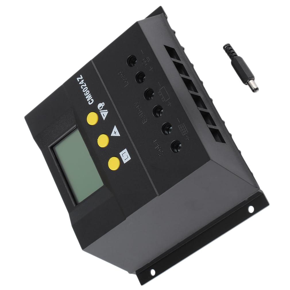 60A 12-24V/48V Solar Regulator Solar Charge Controller LC...
