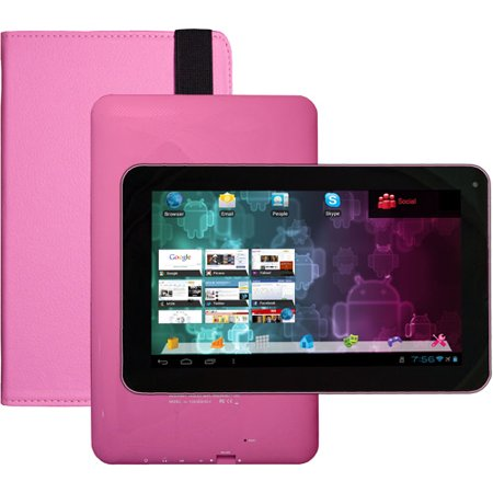 "Visual Land 9"" Tablet 8GB Memory Bonus Case"