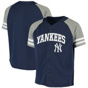 New York Yankees Youth Team Jersey - Navy/Gray