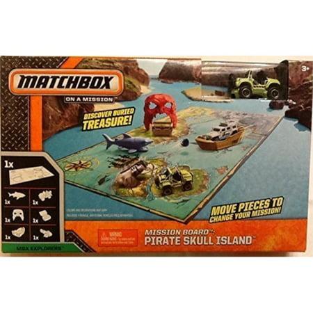 Matchbox on a Mission Pirate Skull Island Jeep