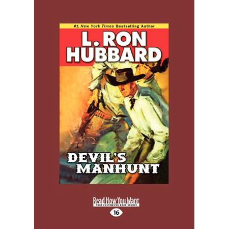 Devils Manhunt (Large Print 16pt) by