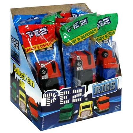 Pez Big Rigs (Trucks): 12 Count](Big Lollipops)