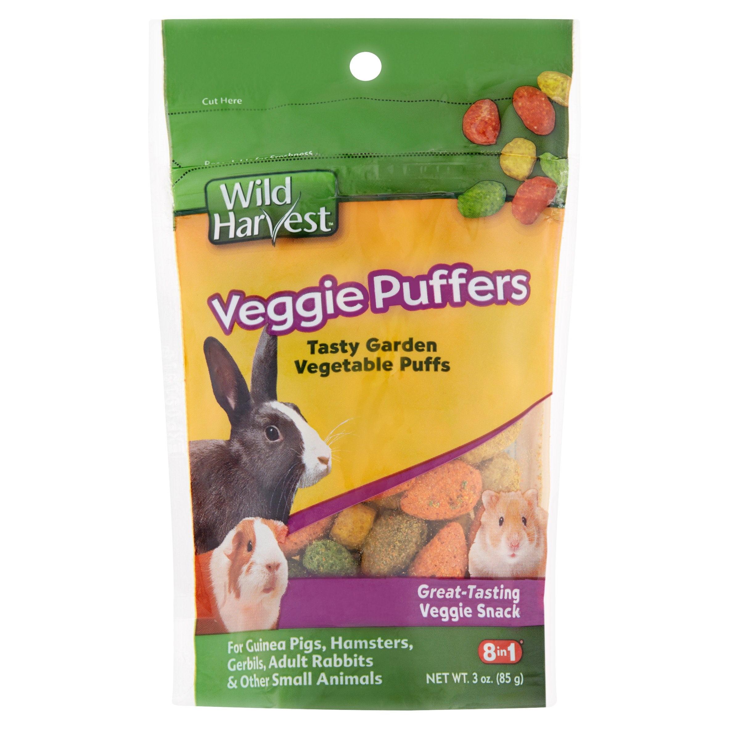 Wild Harvest Veggie Puffers for Small Animals, 3 oz - Walmart.com