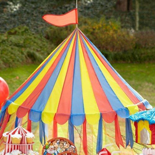 Circus Canopy Tent (each) - Party Supplies & Circus Canopy Tent (each) - Party Supplies - Walmart.com