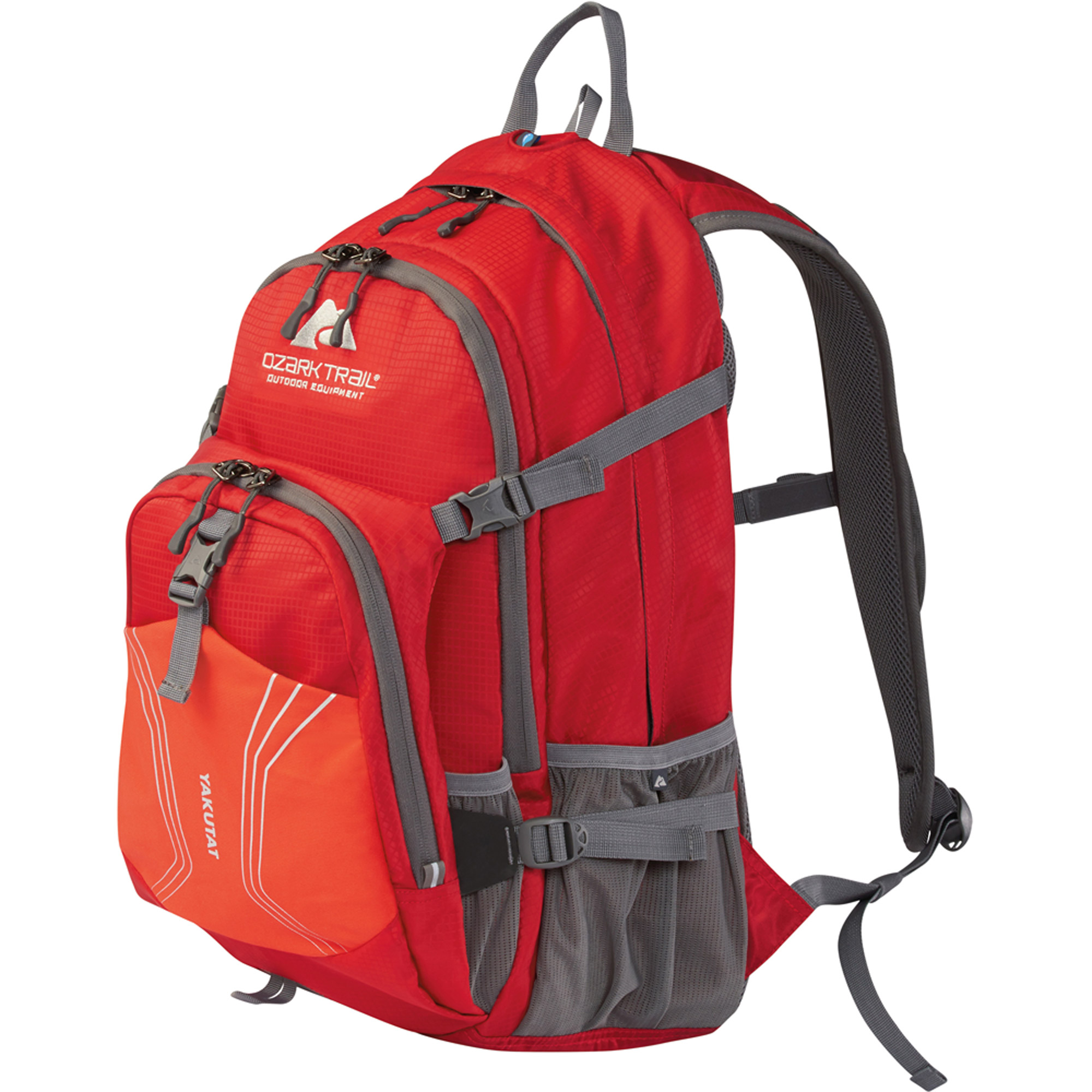 OZARK TRAIL 25L Yakutat Backpack Hydration compatible outdoor adventure hiking backpacking camping