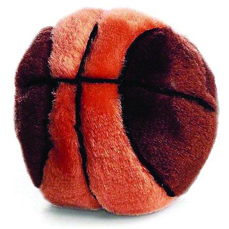Ethical Dog-Plush Basketball Dog Toy (Toto Dog In Basket)