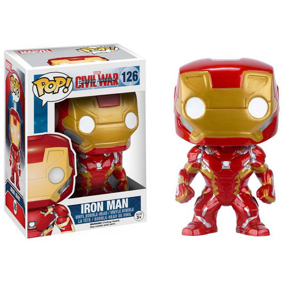 Funko Pop! Marvel: Captain America: Civil War, Iron Man