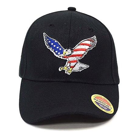 Selini Unisex American Flag Baseball Cap
