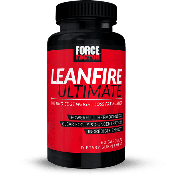 Force Factor Leanfire Ultimate Thermogenic Fat Burner For Weight