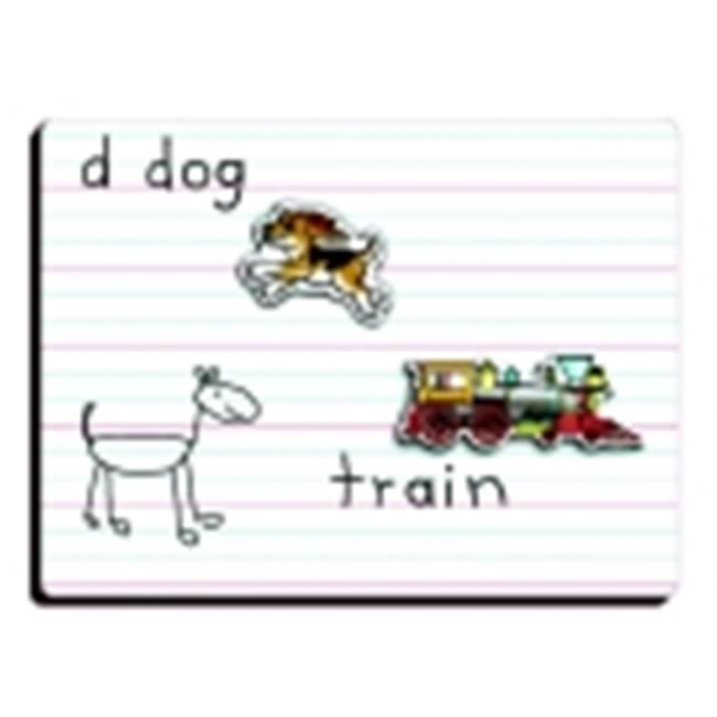 Patch 9 x 12 in. Lined Dry Erase Board, Pack - 12