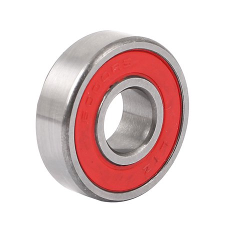 Shielded 6000RS Deep Groove Rubber Sealed Ball Bearing 26mm x 10mm x 8mm (10mm Bearing Spacers)