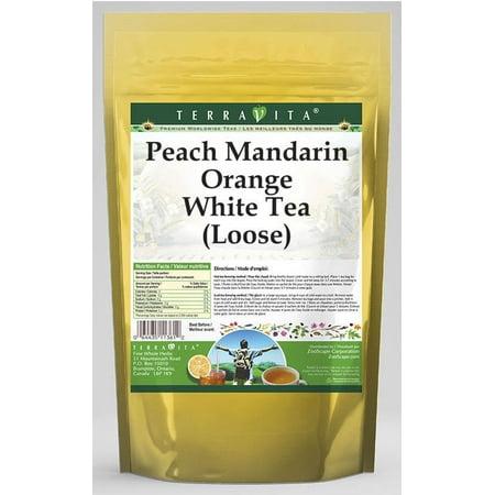 Peach Mandarin Orange White Tea (Loose) (4 oz, ZIN: (Mandarin White Tea)