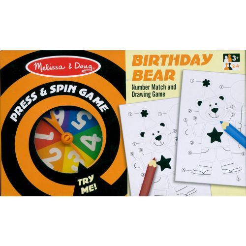 Birthday Bear Press and Spin Game