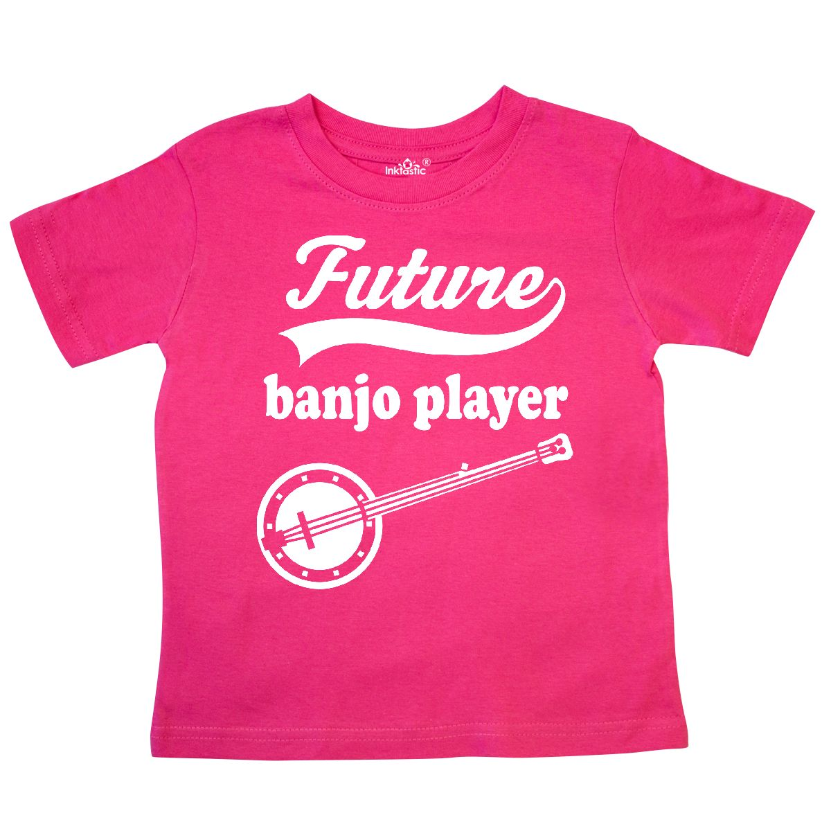 Inktastic Future Banjo Player Childs Music Toddler T-Shirt Instruments Country