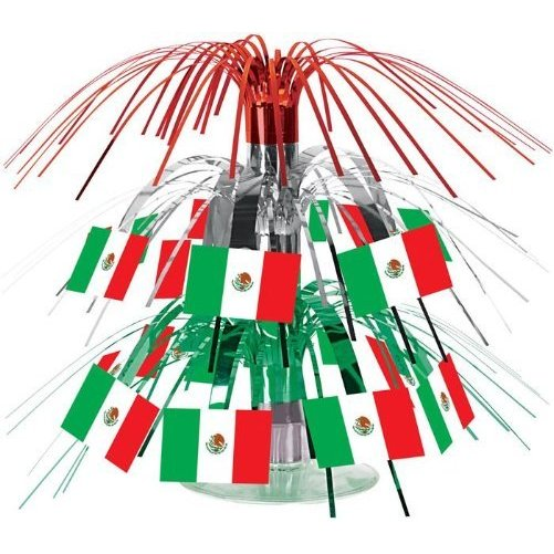 Mexican Flag 7.5-inch Centerpiece
