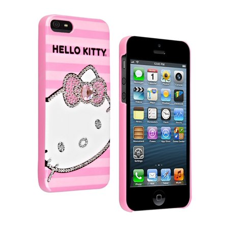 07a1fd835 Hello Kitty Bling Protective Hard Case for Apple iPhone 5/5S/SE (Pink) -  Walmart.com