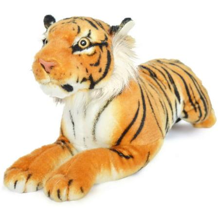 Sandor the Sumatran Tiger | 19 Inch Large Sumatran Tiger Stuffed Animal Plush Cat | By Tiger Tale -