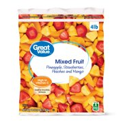 Great Value Frozen Mixed Fruit, 64 oz