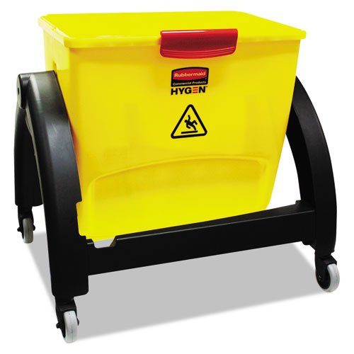 Rubbermaid HYGEN Clean Water System Filter Bucket, Yellow/Red RCP 1791799