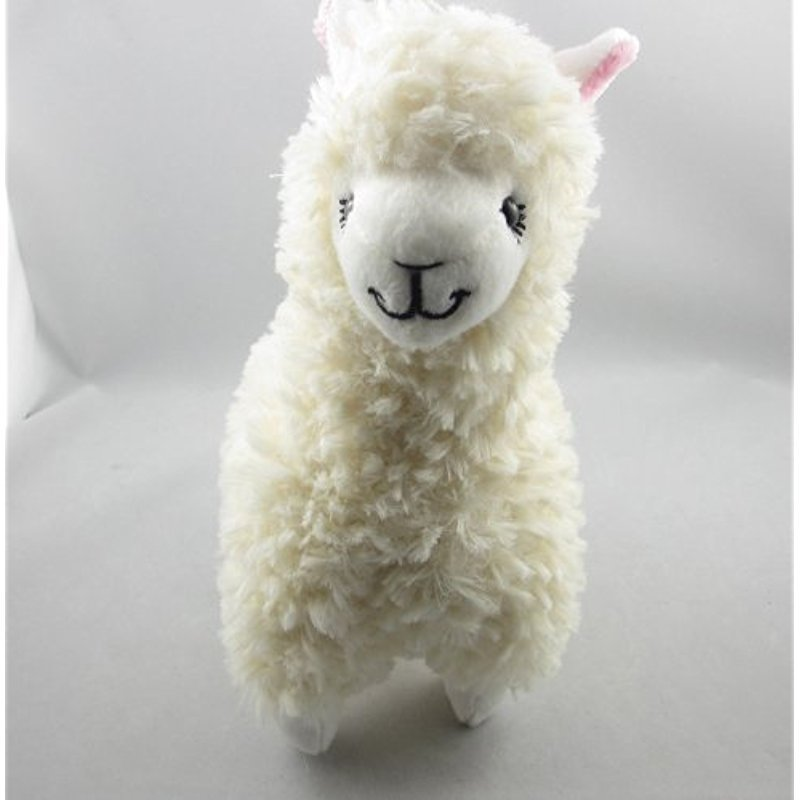 9 Cute Alpaca Llama Plush Toy Creamy White Japan Animal Children