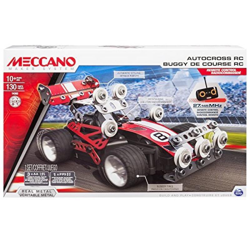 Spin Master Meccano Autocross RC Model Set