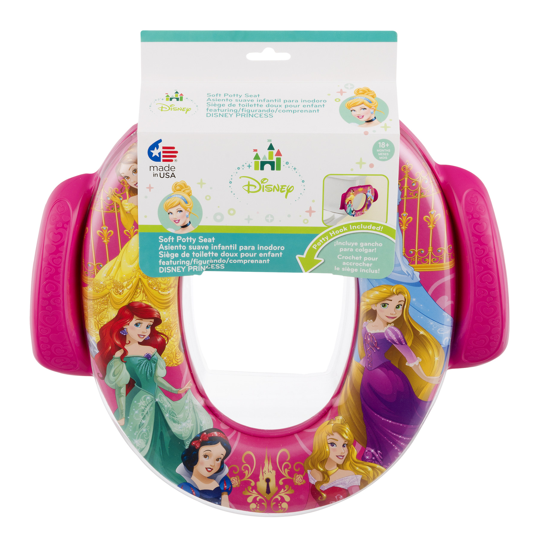Disney Princess Soft Potty Seat, 1.0 CT
